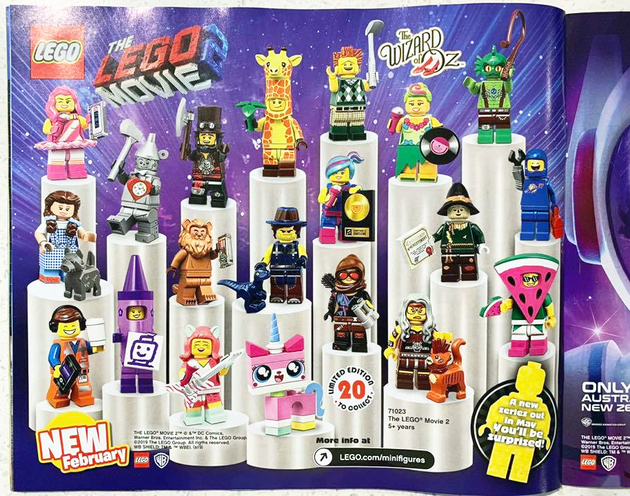 The LEGO Movie 2 Collectible Minifigures