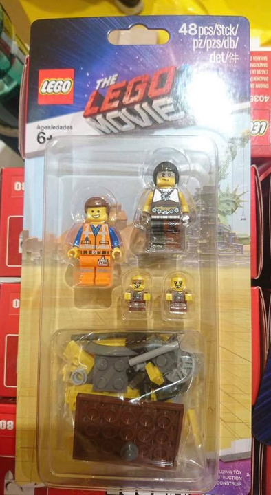 The LEGO Movie 2 Minifigure Pack