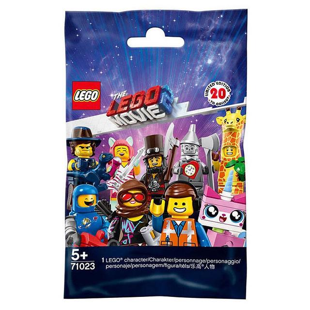 The LEGO Movie 2 Minifigures Bag