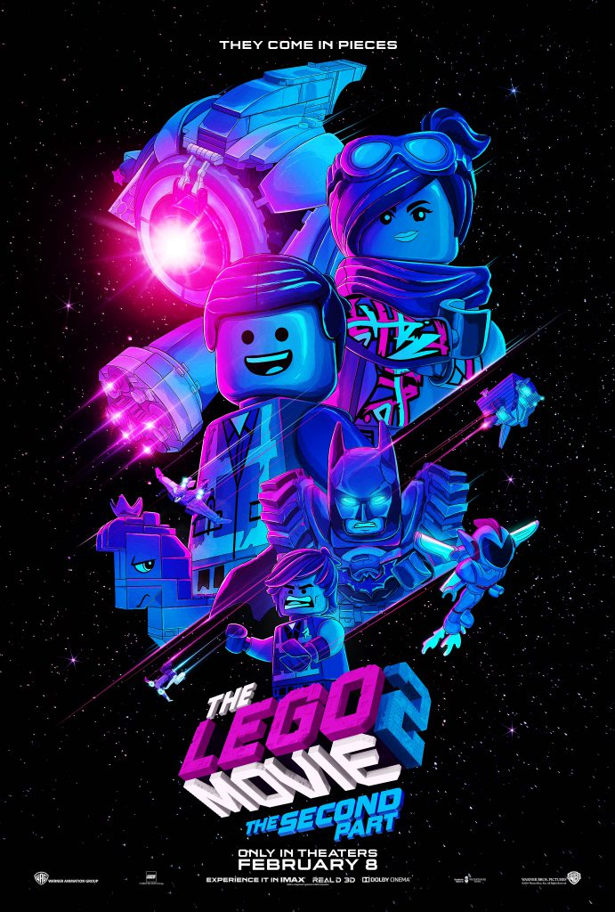 The LEGO Movie 2 Poster Space 691x1024