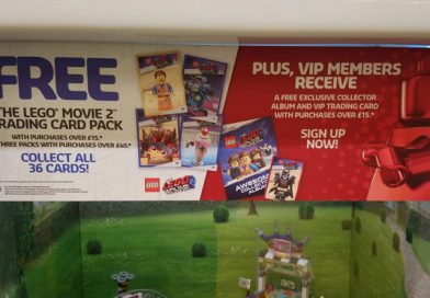 The LEGO Movie 2: The Second Part trading card promotion details