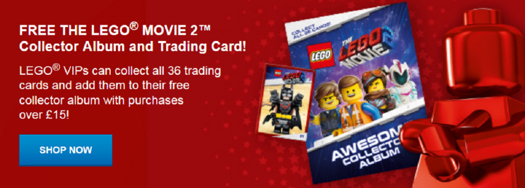 The LEGO Movie 2 Trading Cards 1024x367
