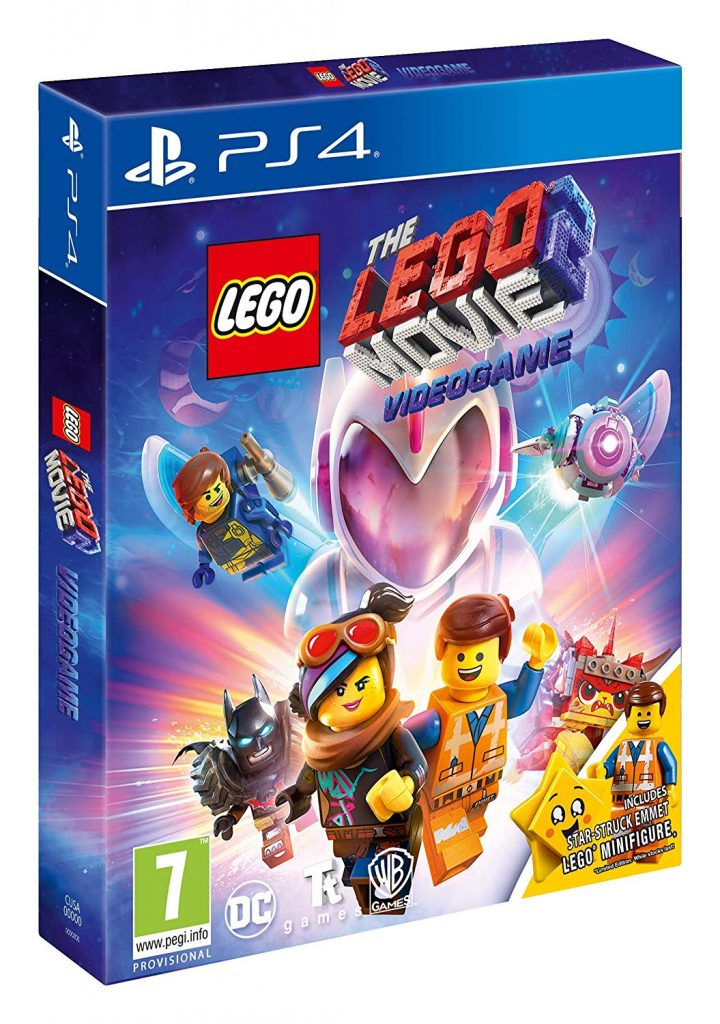 The LEGO Movie 2 Videogame Amazon edition includes 30620