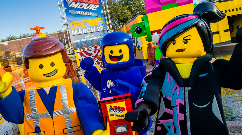 The LEGO Movie World LEGOLAND Florida Featured