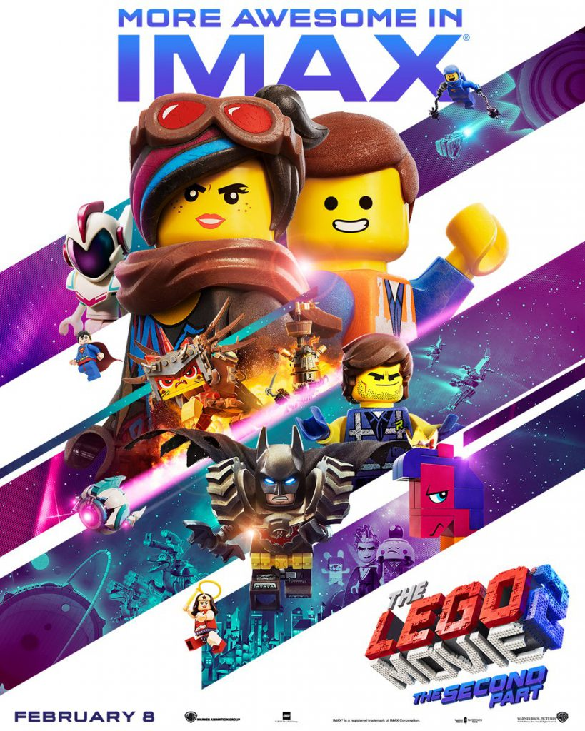 The LEGO Movie2 IMAX Poster 819x1024