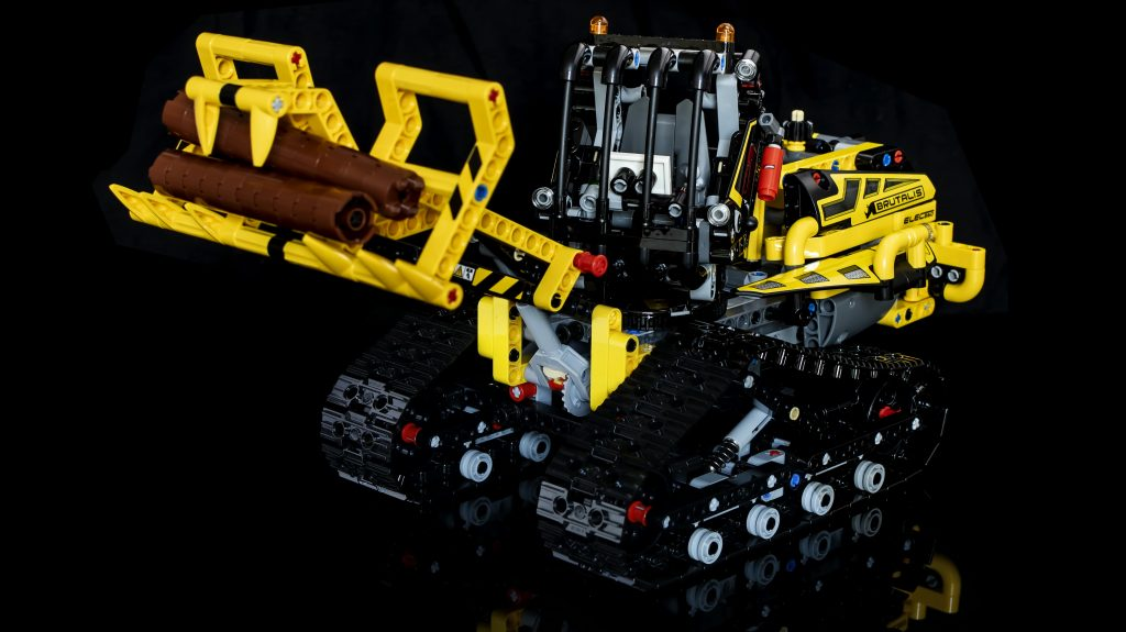 lego technic 42094 tracked loader review. Black Bedroom Furniture Sets. Home Design Ideas