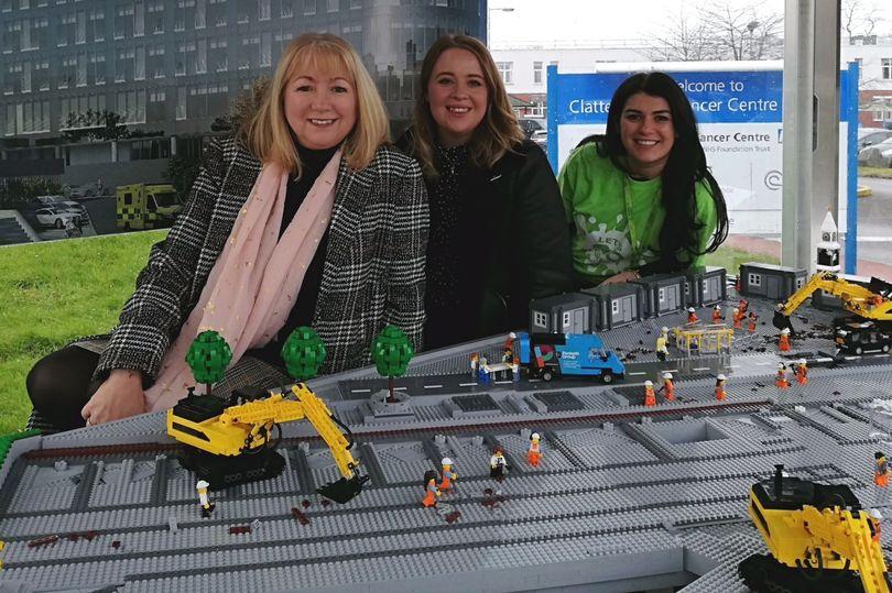 Big LEGO Brick Hospital Donation