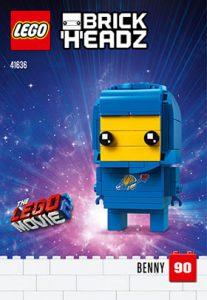 LEGO BrickHeadz 41636 Benny 207x300