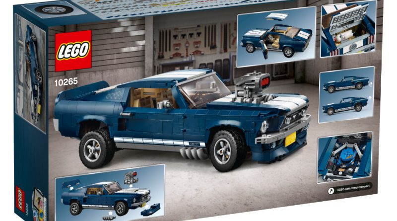 LEGO Creator Expert 10265 Ford Mustang 23 800x445