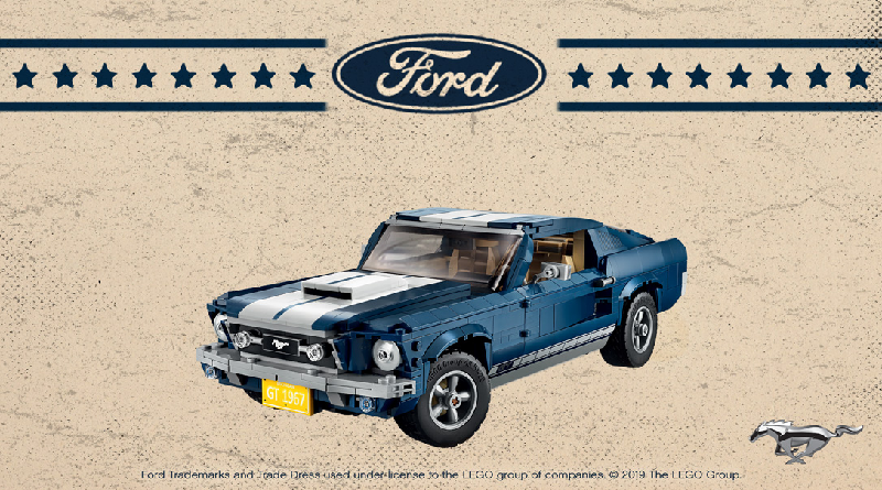 lego creator expert 10265 ford mustang retro poster contest. Black Bedroom Furniture Sets. Home Design Ideas