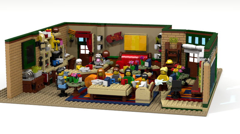 LEGO Ideas Friends Featured 800 445