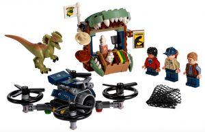 LEGO Jurassic World 75934 Dilophosaurus On The Loose 300x194