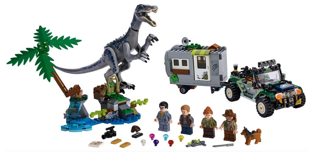 LEGO Jurassic World 75935 Baryonyx Face Off The Treasure Hunt 1024x498