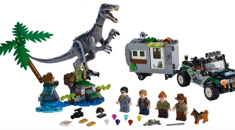 LEGO Jurassic World 75935 Baryonyx Face Off The Treasure Hunt 800x445