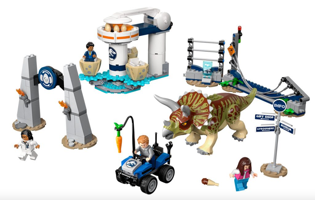 LEGO Jurassic World 75937 Triceratops Rampage