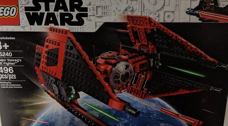 LEGO Star Wars 75240 Major Vonregs TIE Fighter Featured 800 445