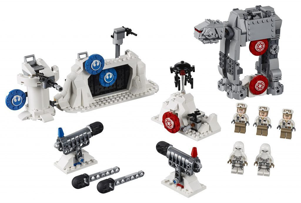 LEGO Star Wars 75241 Action Battle Echo Base Defense 1024x690