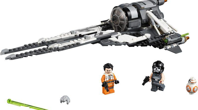 LEGO Star Wars 75242 Black Ace TIE Interceptor 1 800x445