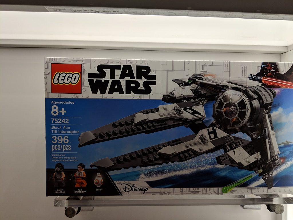 LEGO Star Wars 75242 Black Ace TIE Interceptor 1024x768