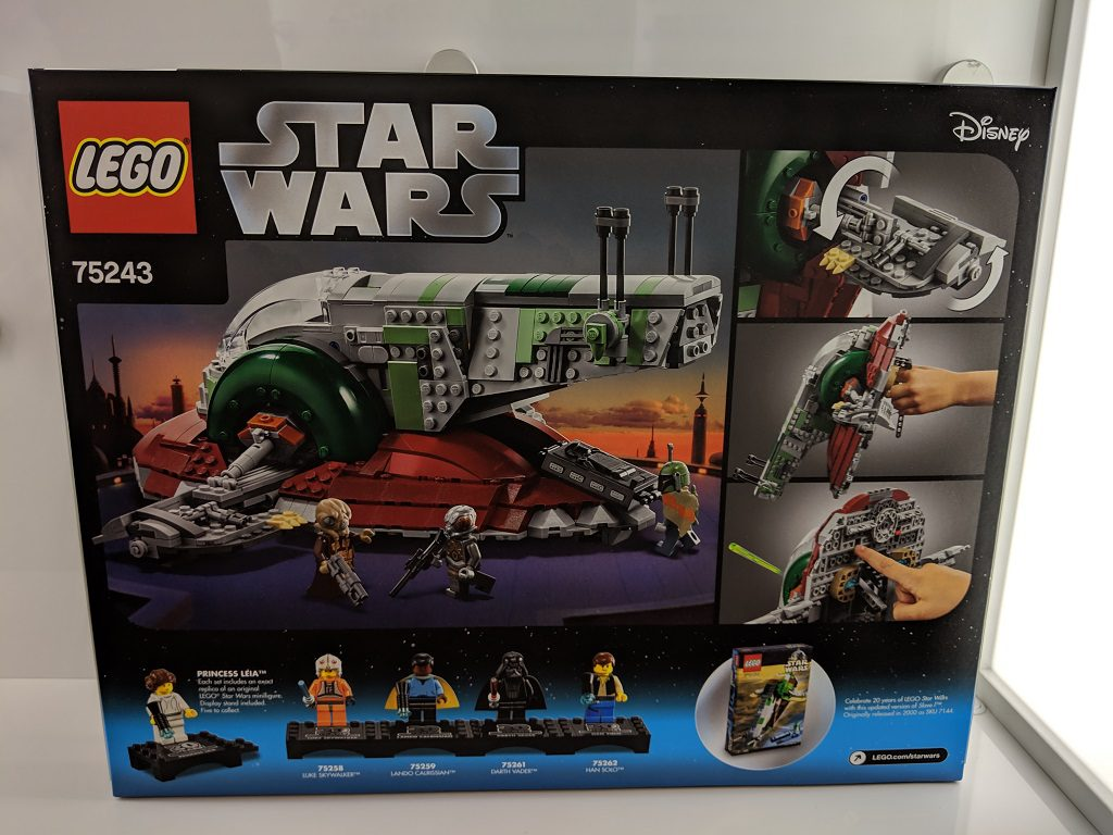 LEGO Star Wars 75243 Slave 1 20th Box 1024x768