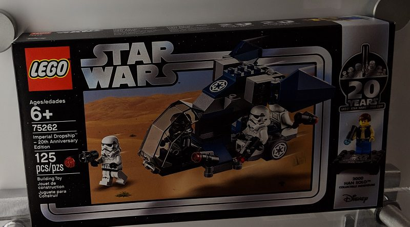 LEGO Star Wars 75262 Imperial Dropship 20th box fetatured