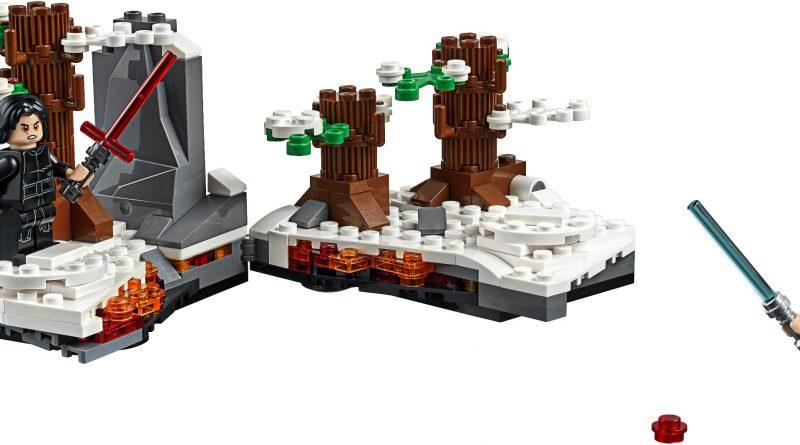 LEGO Star Wars Official 75236 Duel On Starkiller Base 800x445