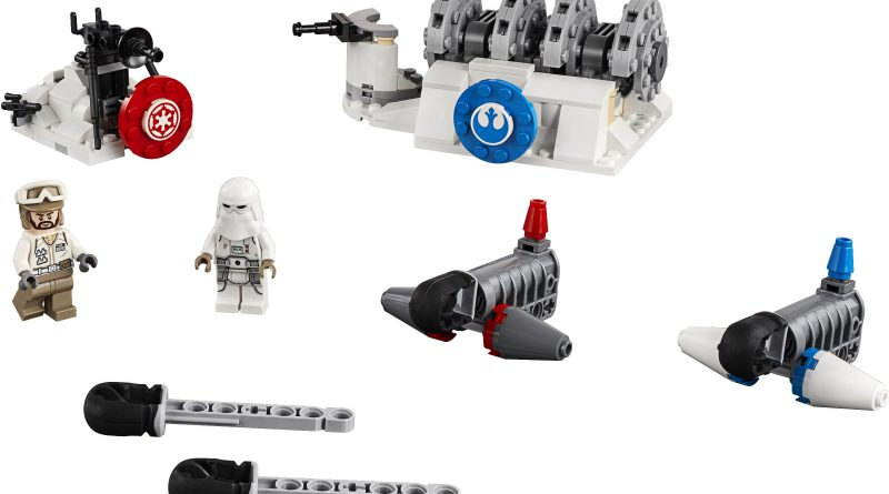 LEGO Star Wars Official 75239 Action Battle Hoth Generator 800x445