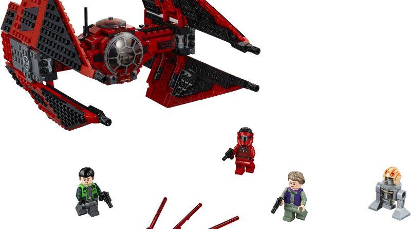 LEGO Star Wars Official 75240 Major Vonregs TIE Fighter 800x445