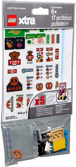LEGO Xtra Brick Stickers