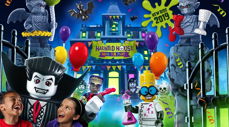 LEGOLAND Haunted House Monster Party Featured 800