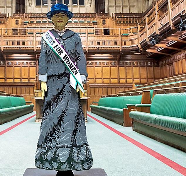 Suffragette Hope LEGO Model