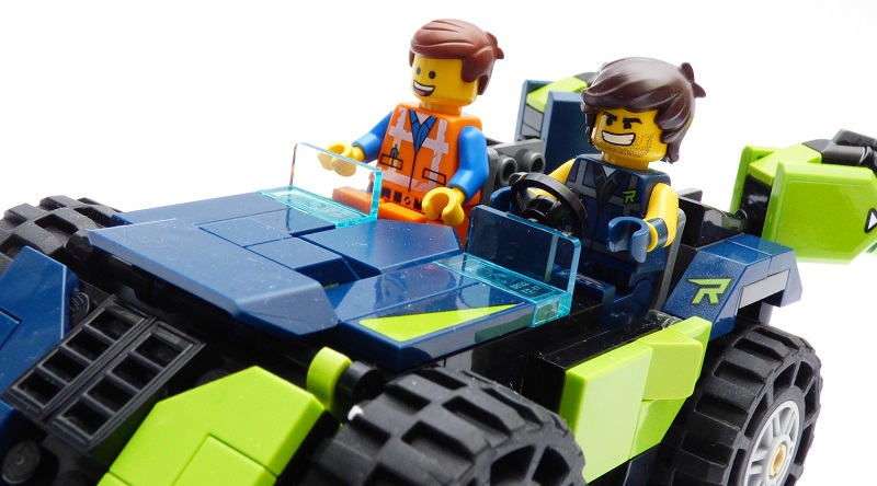 The LEGO Movie 2 70826 Rexs Rextreme Off Roader featured 800 445