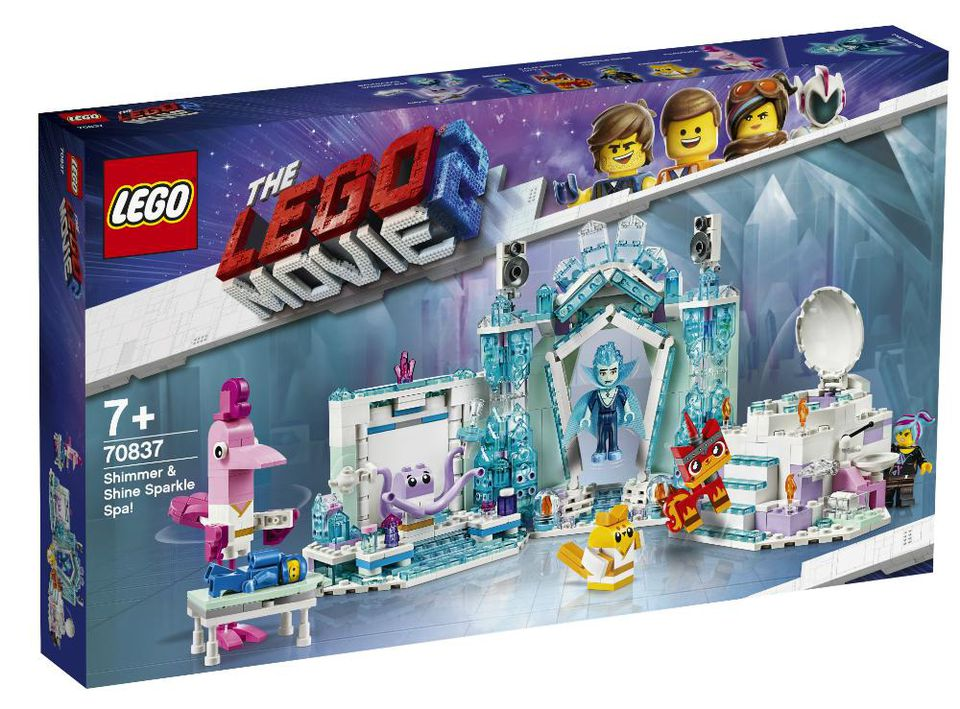 The LEGO Movie 2 70837 Shimmer Shine Sparkle Spa Box