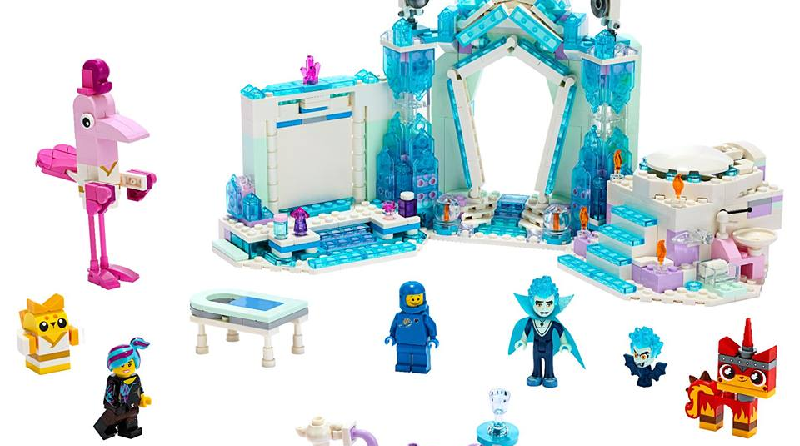 The LEGO Movie 2 70837 Shimmer Shine Sparkle Spa Featured 800 445