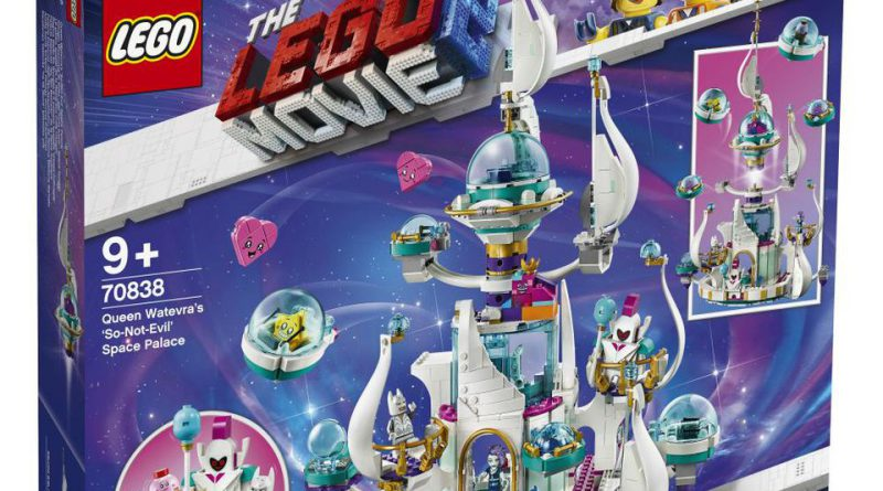 The LEGO Movie 2 70838 Queen Watevras So Not Evil Space Palace Boxed 800x445