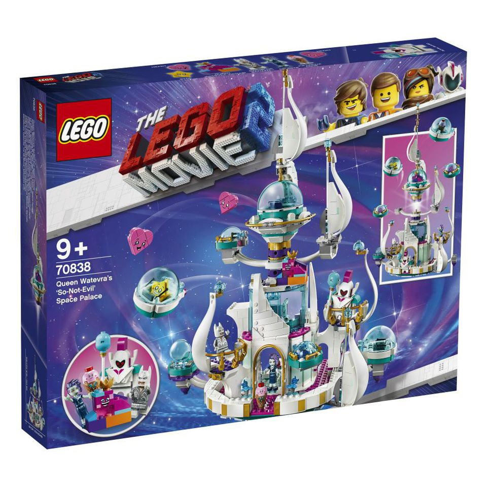 The LEGO Movie 2 70838 Queen Watevras So Not Evil Space Palace Boxed