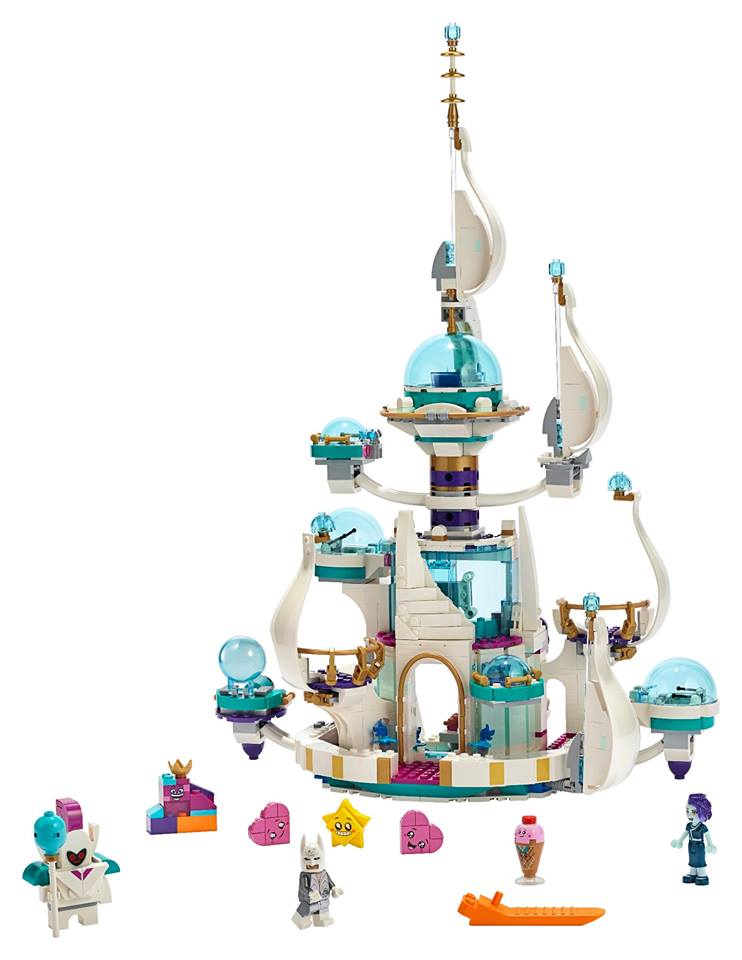 The LEGO Movie 2 70838 Queen Watevras So Not Evil Space Palace