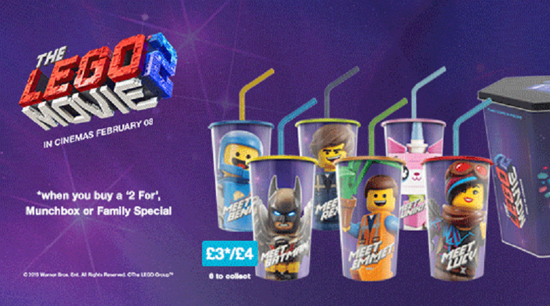 The LEGO Movie 2 Cineworld Cups Featured 800 445