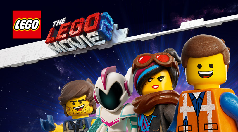 The LEGO Movie 2 characters featured 800 445