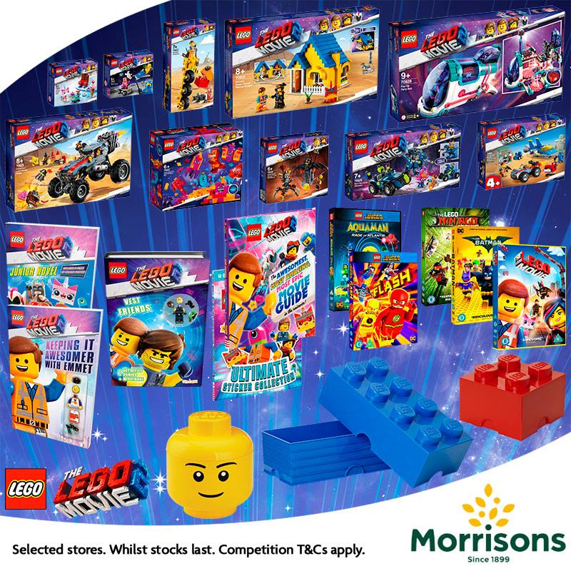 The LEGO Movie 2 Competition