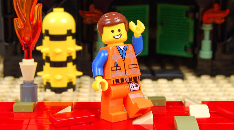 The LEGO Movie 2 premiere Emmet featured 800 445