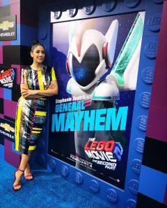 The LEGO Movie 2 Premiere Stephanie Beatriz 1 240x300