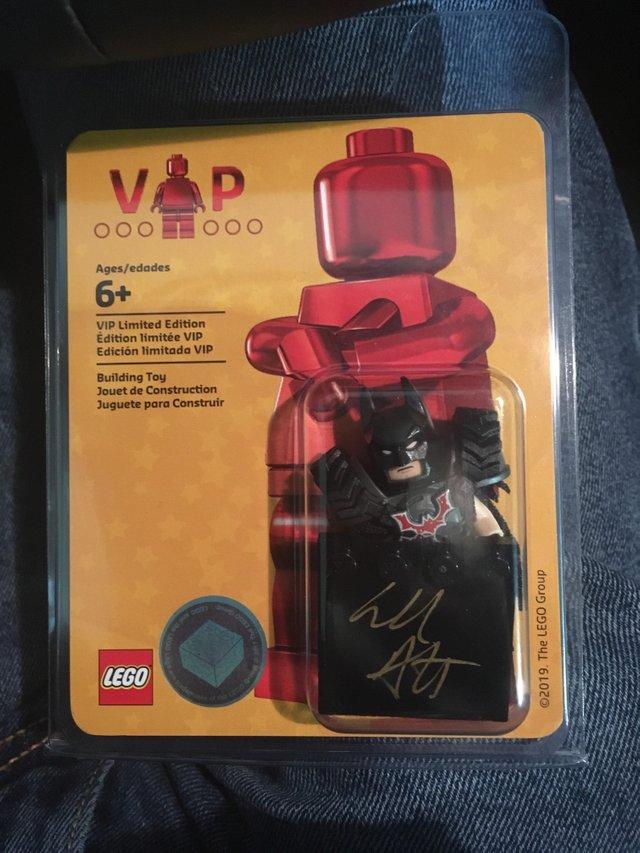 The LEGO Movie 2 Signed Will Arnett
