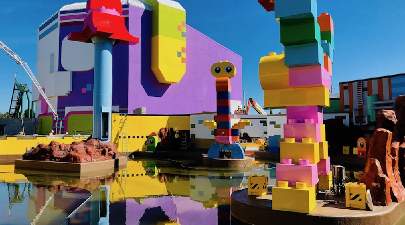 The LEGO Movie World Water Ride Featured