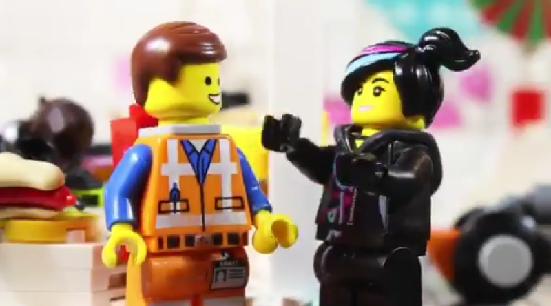 The LEGO Movie Stop Motion Featured 800 445