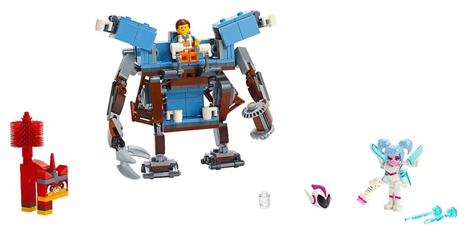 The LEGO MOvie 2 70842 Emmets Triple Decker Couch Mech