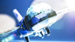 Airplane In Flight 300x169