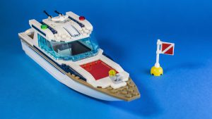 Diving Boat With Flag 300x169