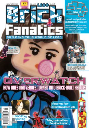 Brick Fanatics Magazine 12 Issue Subscription (3-14)