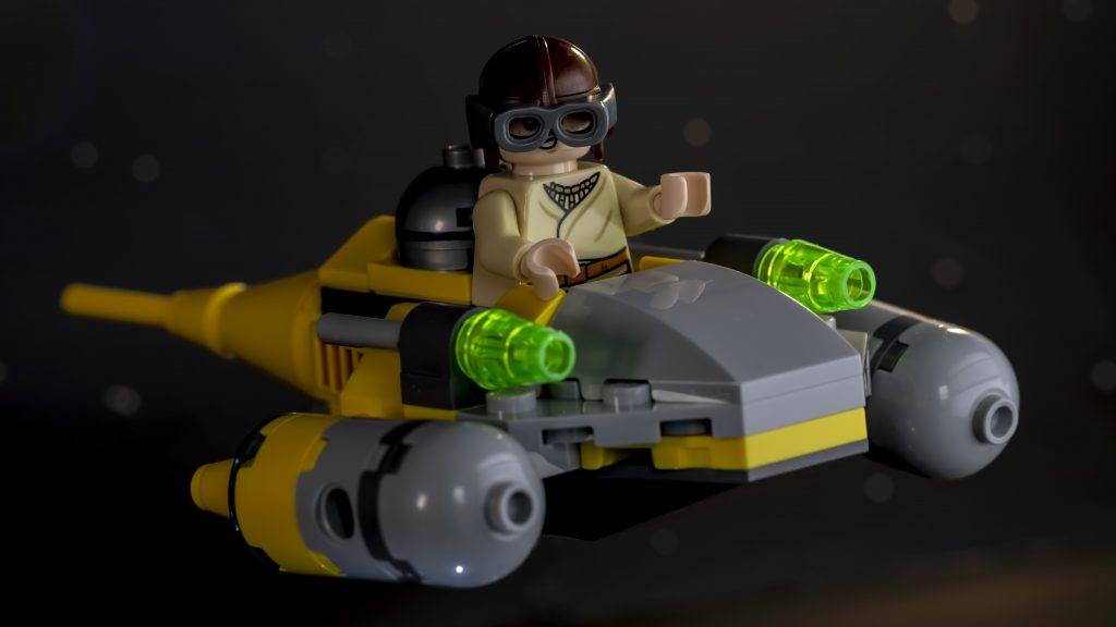 Naboo Fighter Fly Past